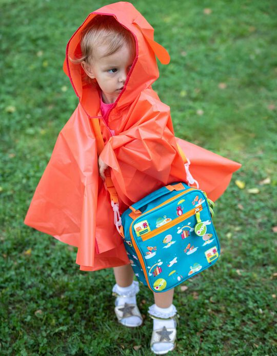 Lunchbox + Rain Cape + Accessories Set Oops City