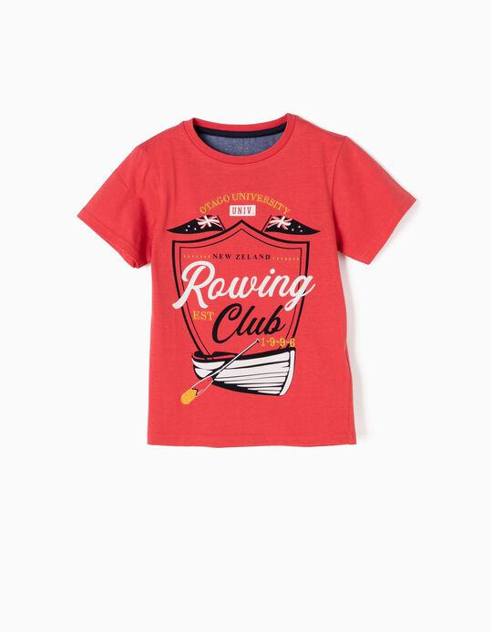 T-shirt Rowing Club Vermelha