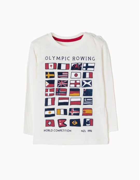 Camiseta de Manga Larga Olympic Rowing