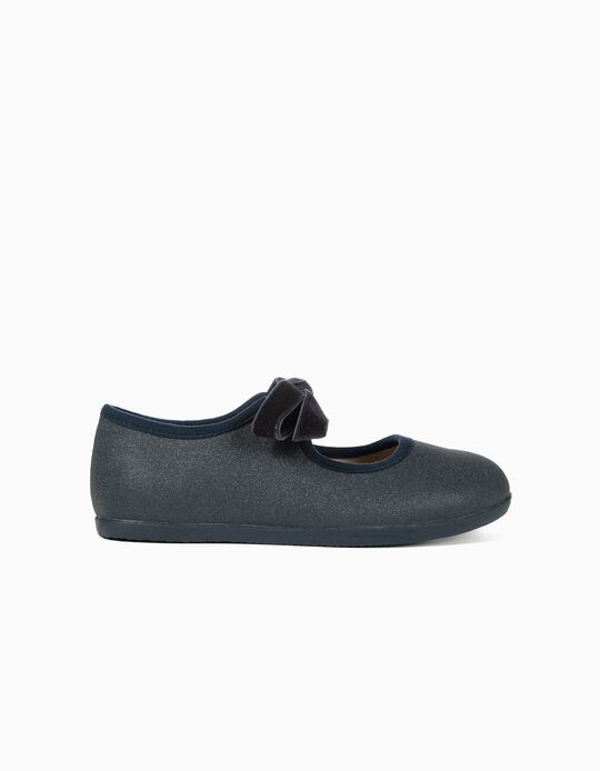 Ballerinas for Girls 'ZY Ballerina', Dark Blue