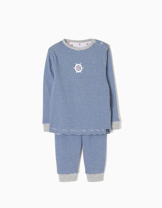 Pijama Riscas Wheel