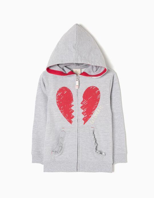 Casaco de Felpa Broken Heart