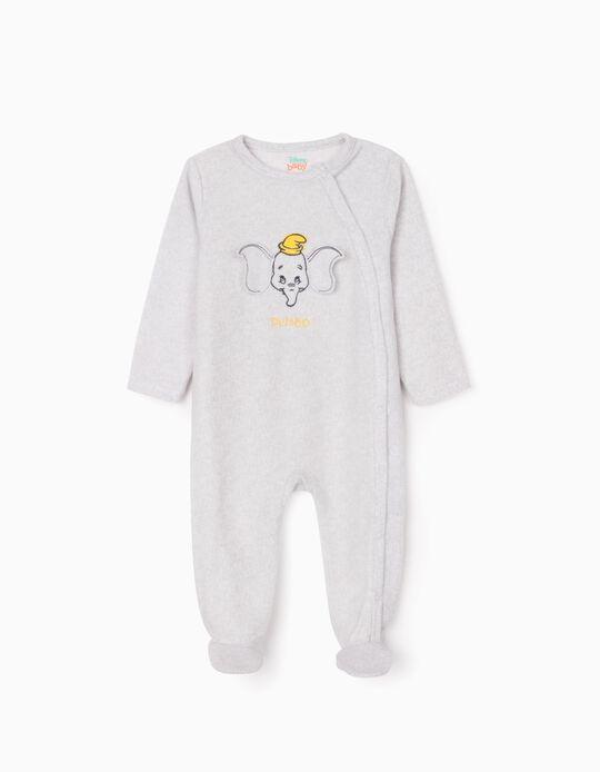 Polar Sleepsuit for Babies 'Dumbo', Grey