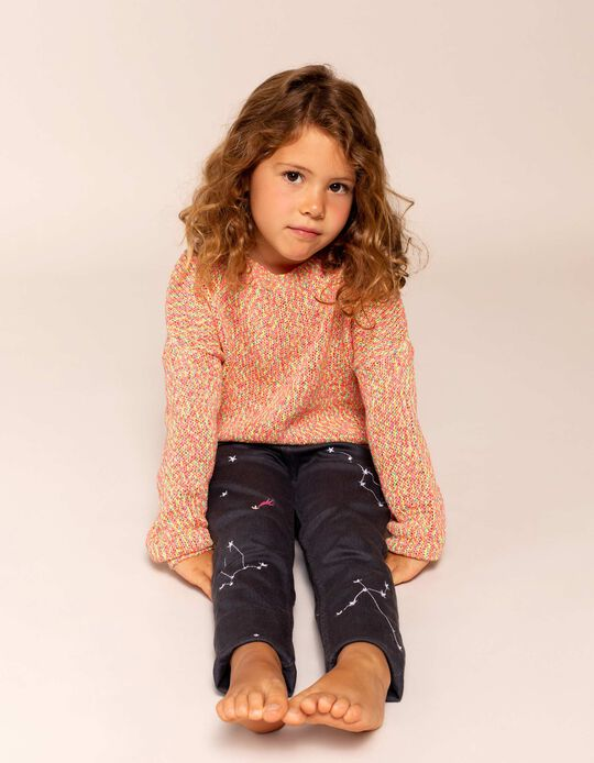 Jumper for Girls, Multicoloured