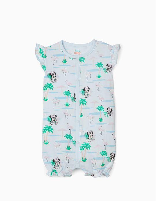 Pelele para Bebé Niña 'Minnie', Azul Claro