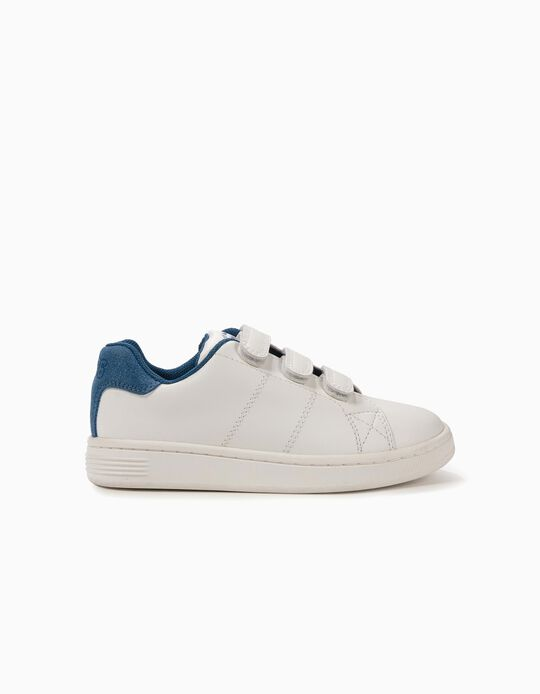Sneakers for Boys 'ZY 1996', White and Blue