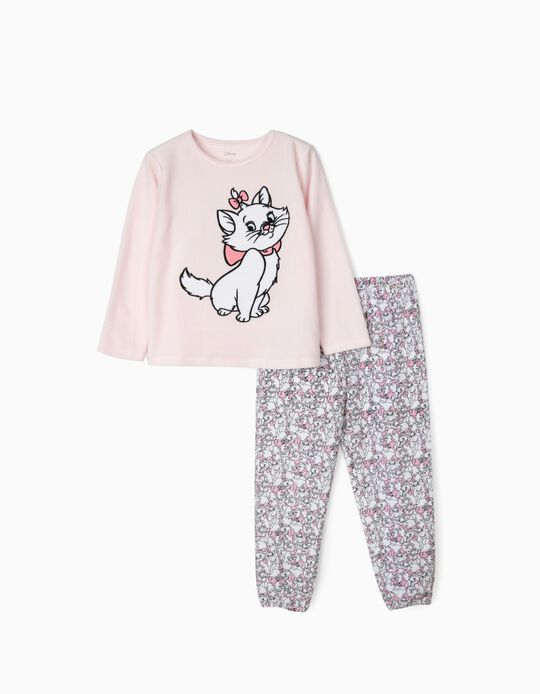 Pijama para Niña 'Aristogatos', Rosa/Blanco