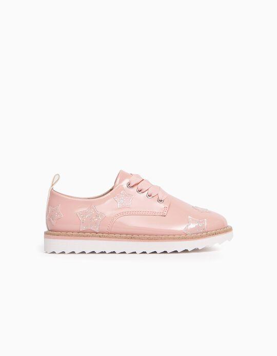 Sapatos de Verniz para Menina, Rosa