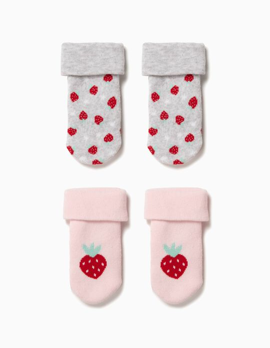 Pack 2 Calcetines Antideslizantes Strawberries