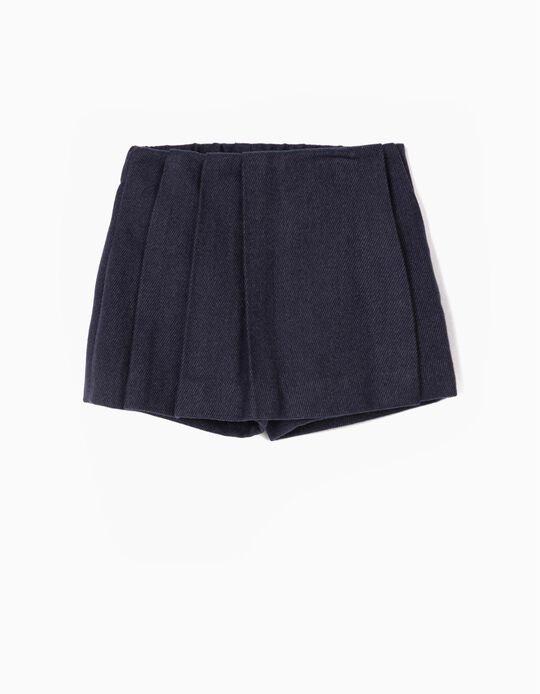 Falda Pantalón para Niña, Azul