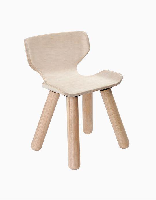 Cadeira Em Madeira Plan Toys 3A+