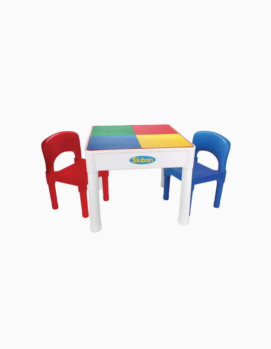 Mesa com 2 Cadeiras Sluban