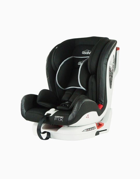 Silla Auto Gr1/2/3 Confort Fix Asalvo