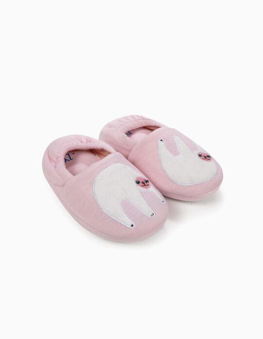 Zapatillas de casa para Niña 'Sloth', Rosa