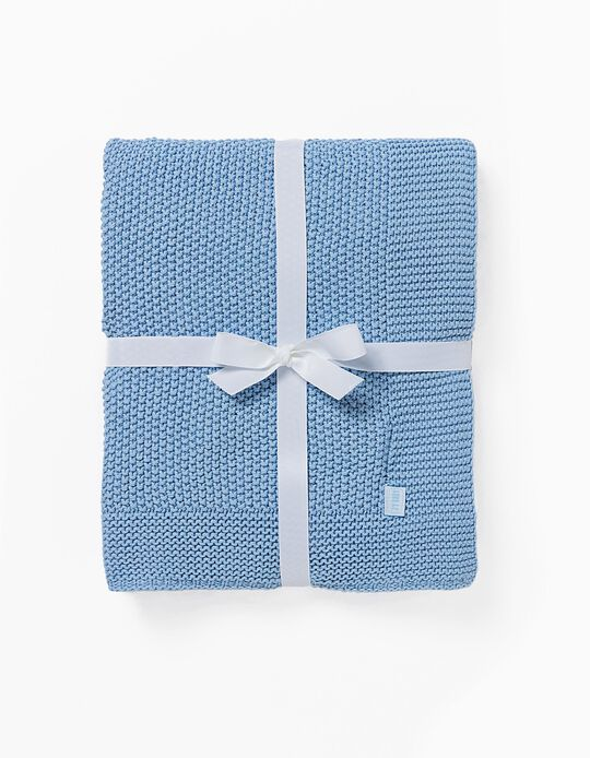 Knitted Blanket 90X75cm by Zy Baby
