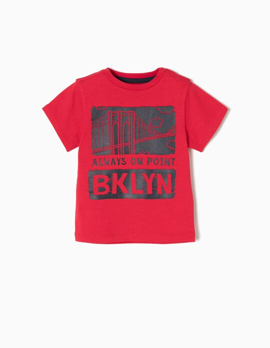Camiseta New York Roja