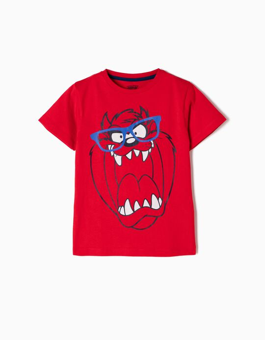 T-shirt Taz Vermelha