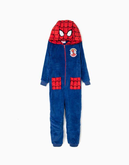 Pijama-Macacão com Capuz Spider-Man