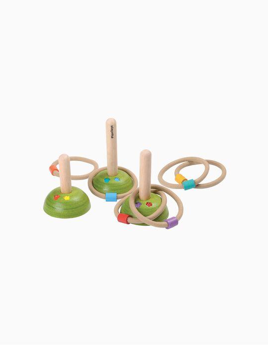 Jogo Das Argolas Plan Toys 3A+