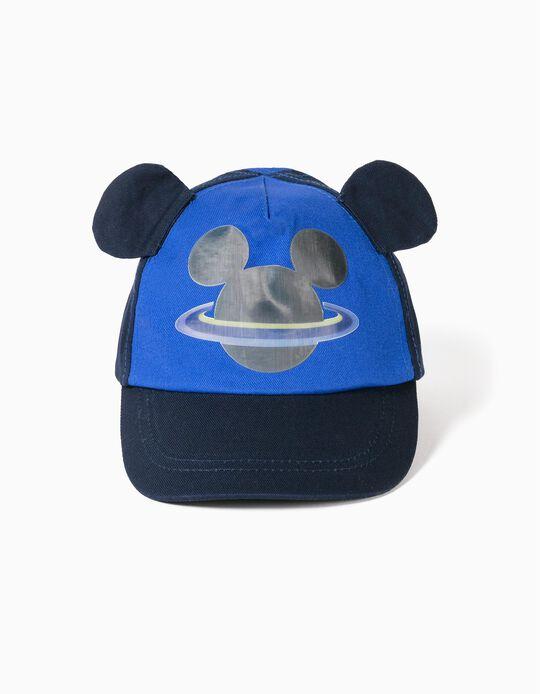 Boné para Bebé Menino 'Mickey', Azul