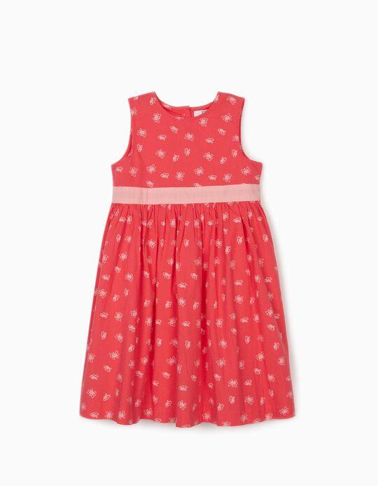 Vestido para Menina 'Butterflies', Rosa