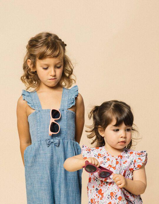 Gafas de Sol Flexibles para Niña, Rosa Claro