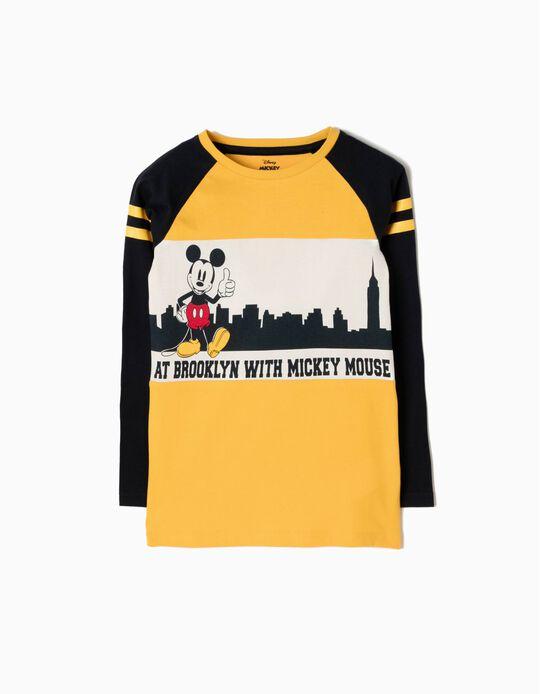 T-shirt Manga Comprida Mickey Brooklyn