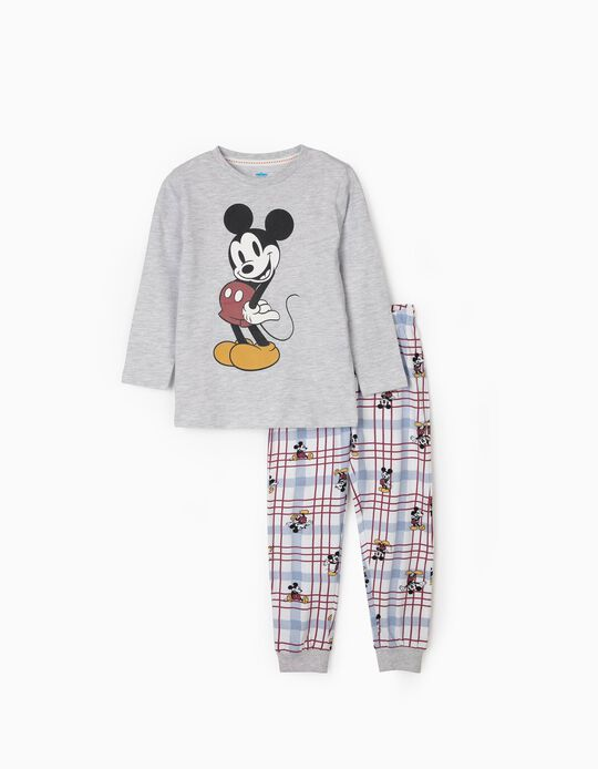 Pyjamas for Boys, 'Mickey Mouse', Grey