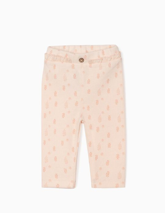 Trousers for Newborn Baby Girls, Pink