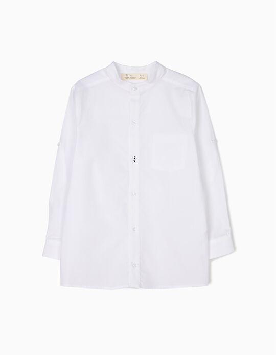 Camisa Menino Branca B&S