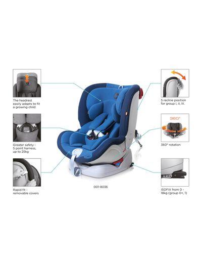 Cadeira Auto Gr 0/1/2/3 Isofix One Apramo