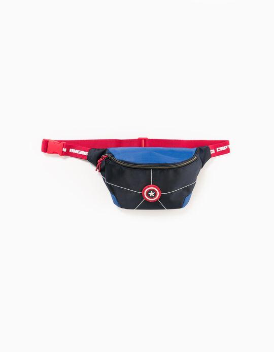 Bum bag for Boys 'Captain America', Blue/Red