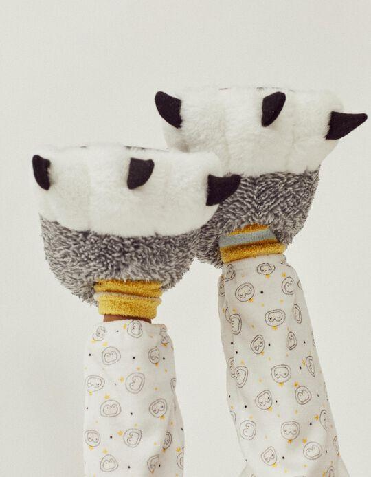 Zapatillas de Casa Infantiles 'Paws', Gris