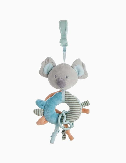 CLIP 20CM KOALA LITTLE KIDS BLEU