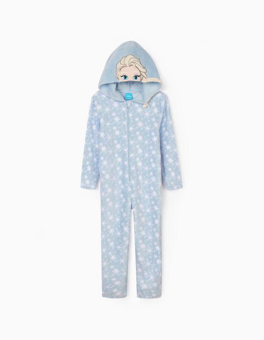 Pijama Mono para Niña 'Elsa', Azul