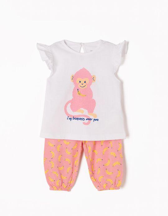 Pijama sin Mangas Monkey & Bananas