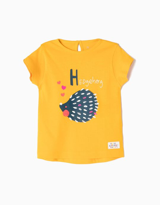Camiseta estampada Hedgehog