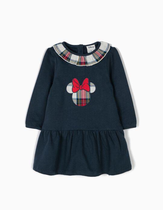 Vestido Disney Minnie Combinado Xadrez