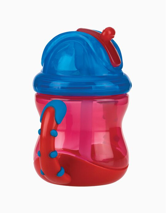 Sippy Cup with Straw 240 ml 12M+ by Nuby