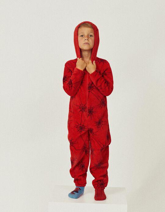Pijama Mono para Niño 'Spider-Man', Rojo
