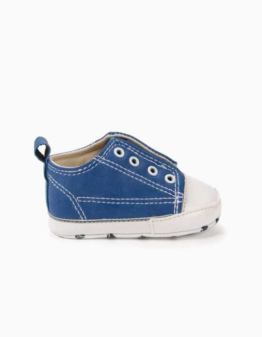Zapatillas Pre-Walker Slip-on Azules