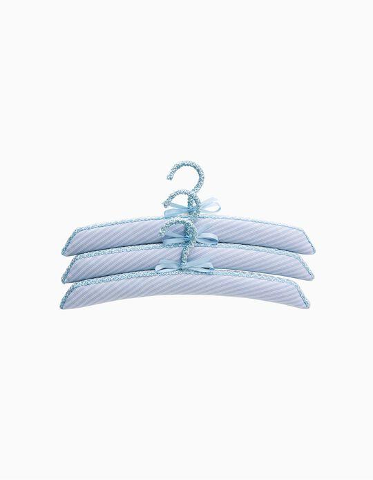 Cabide Saro Blue Stripes 3pçs.
