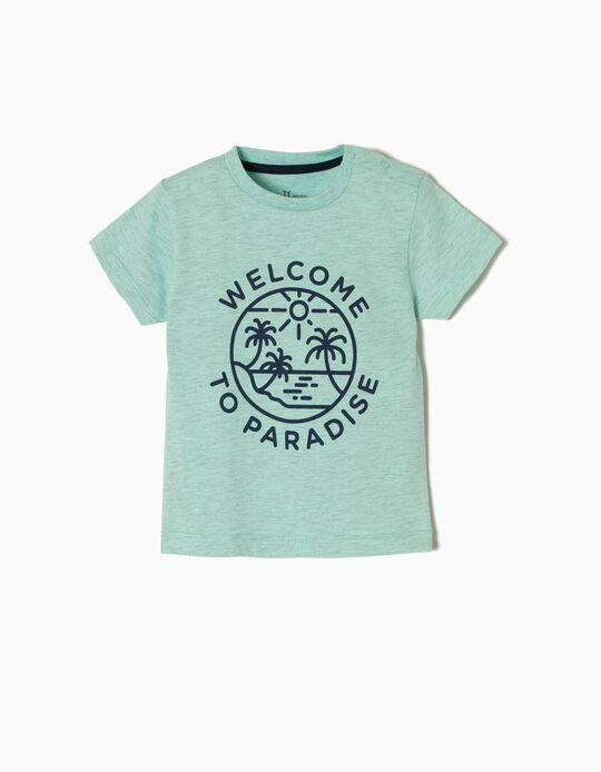 T-shirt Estampada Paradise