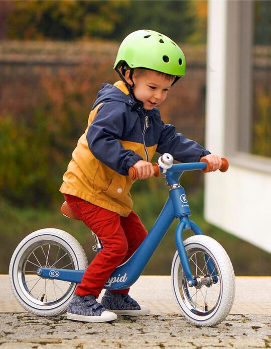 Bicyclette d'apprentissage Rapid kinderkraft bleu saphir