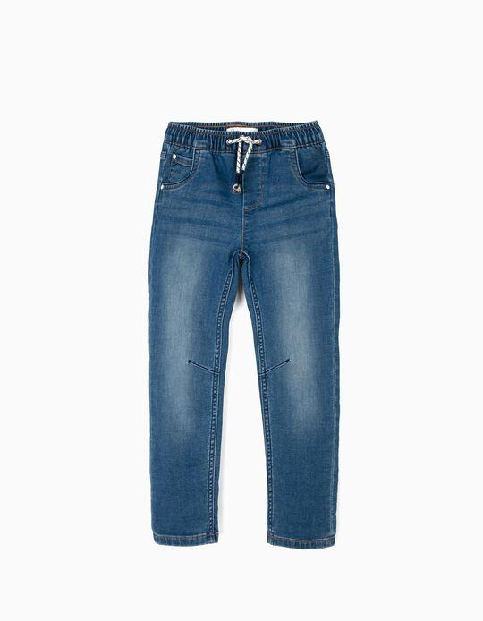 Pantalón Vaquero para Niño, Azul