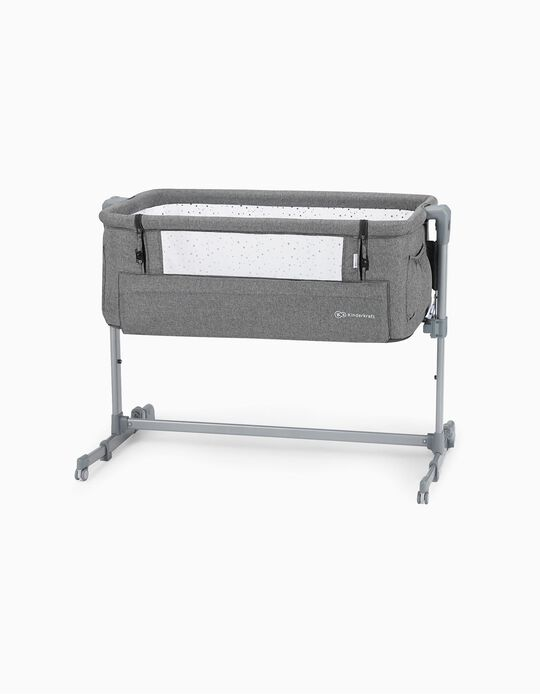 Cuna Neste Up Kinderkraft Grey Melange