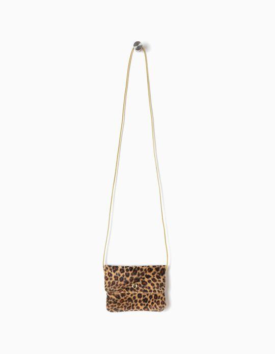 Bolso Bandolera Leopardo