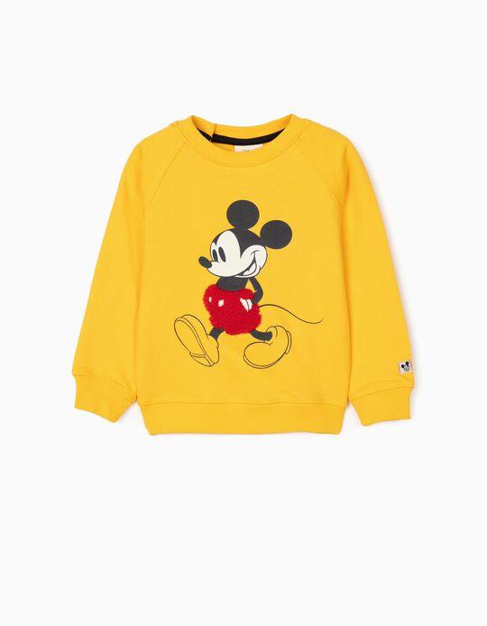 Sudadera para Bebé Niño 'Mickey', Amarilla