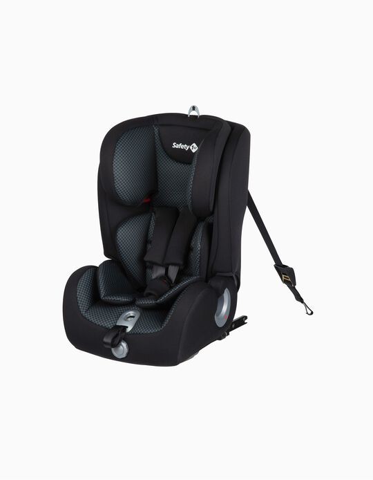 Silla para Coche Gr 1/2/3 Ever Fix Safety 1St Pixel Black