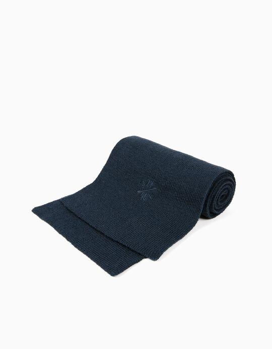 Bufanda Básica ZY 96 Azul
